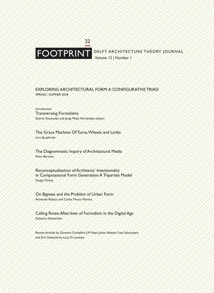 c00294c1a48 Paper by Johan A. Nielsen in Footprint Delft Architecture Theory ...