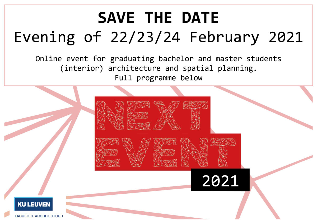 NEXT- een forum voor je toekomst