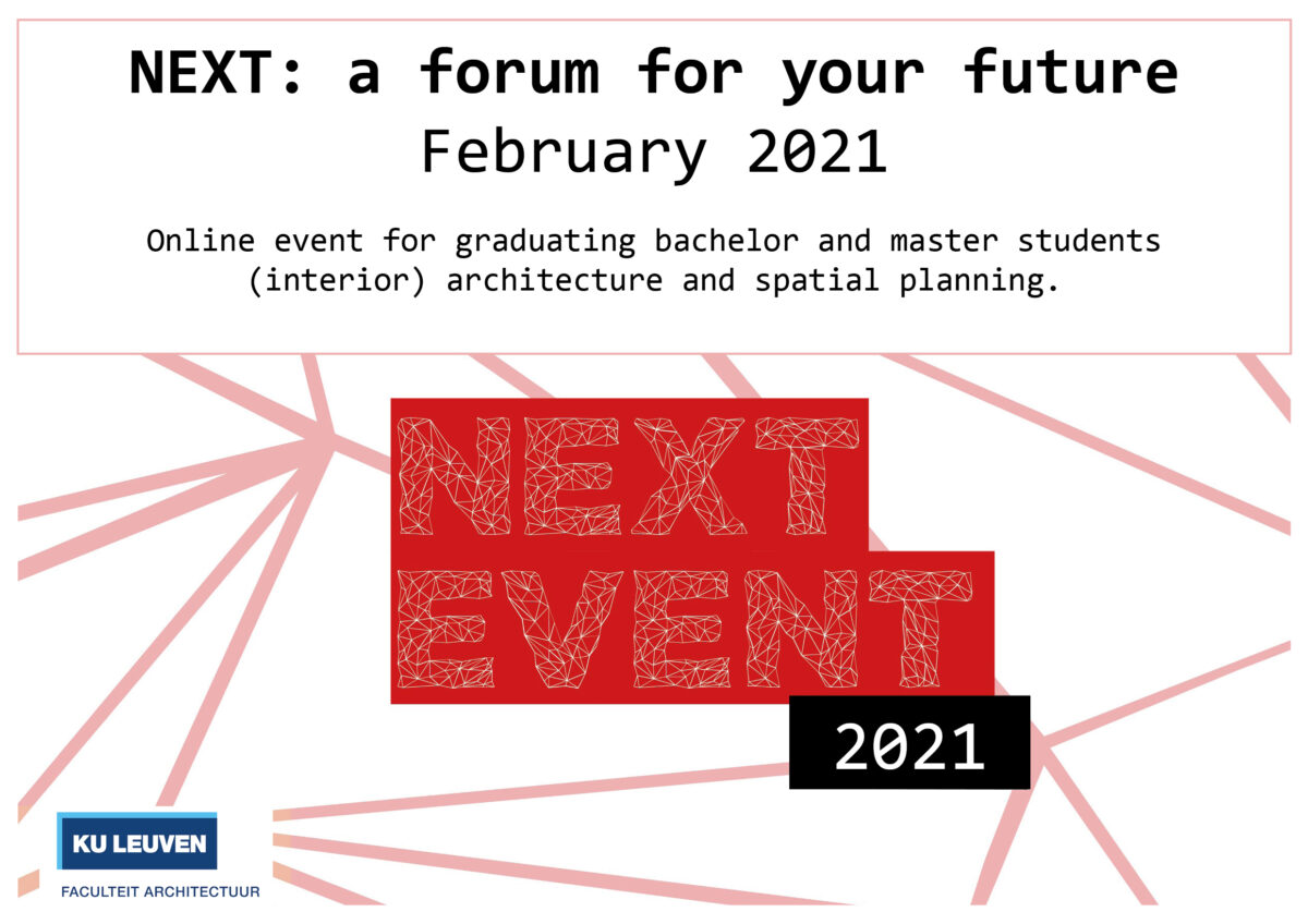 NEXT- a forum for your future